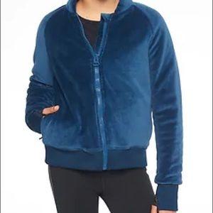 Athleta Girl plush puffer coat. NWT